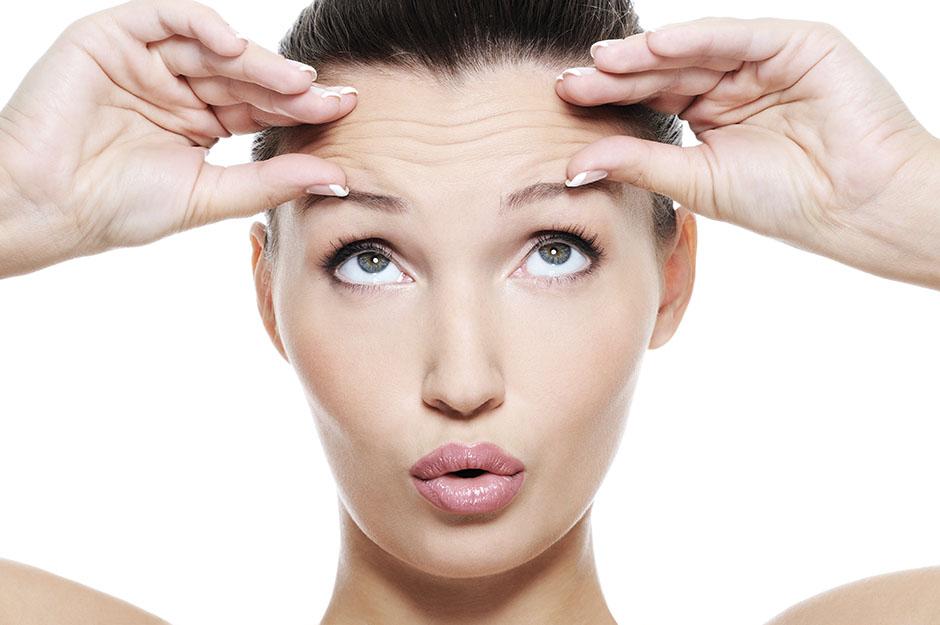 Trattamento rughe del contorno occhi, della fronte o del corrugatore